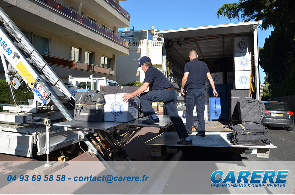 Comment faire pour un déménagement en groupage à Théoule-sur-Mer?