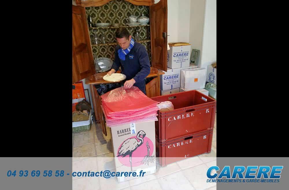 Comment faire pour un déménagement en groupage à Cannes?