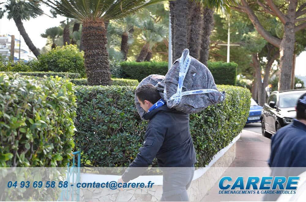 Quel tarif pour un déménagement  à Cannes?