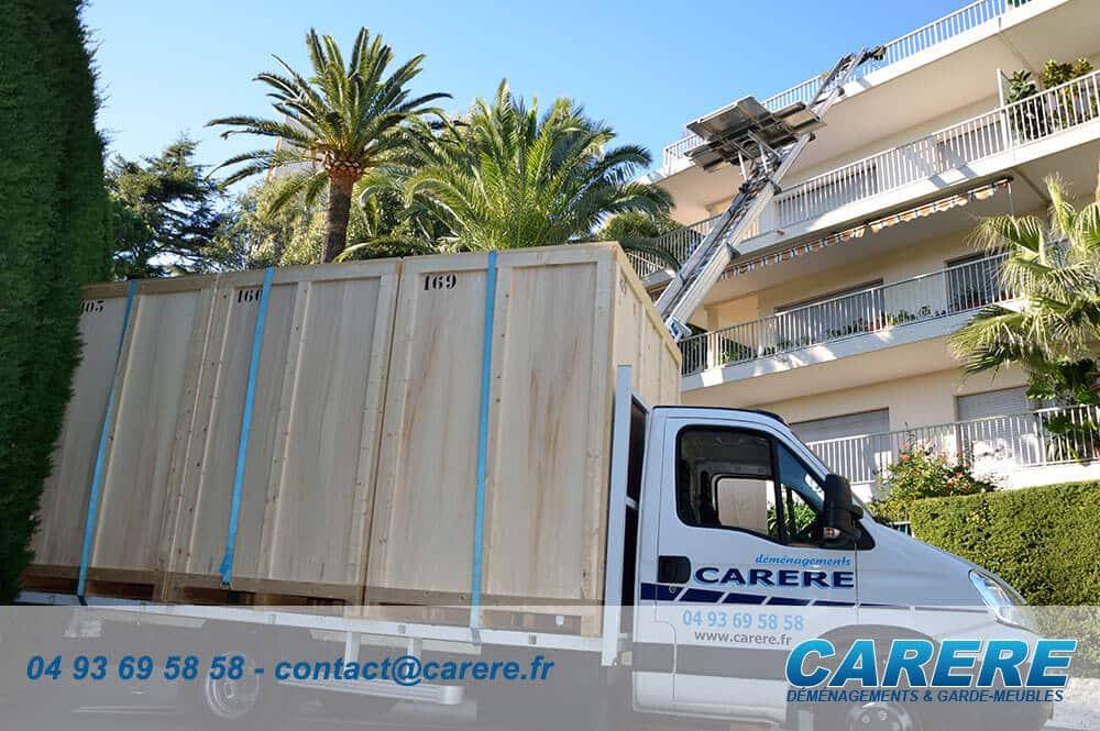Quel prix pour un déménagement en groupage à Auribeau-sur-Siagne?