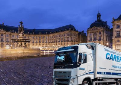 Comment faire un déménagement entre Bordeaux-Valbonne ?