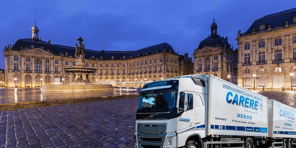 Comment faire un déménagement entre Bordeaux-Cannes ?
