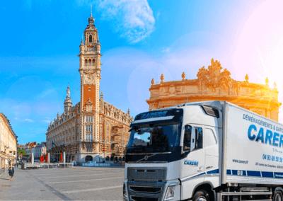Comment déménager en groupage Lille-Le Cannet ?