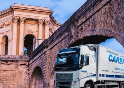 Comment faire un déménagement entre Montpellier-Le Cannet ?