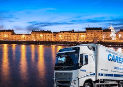Comment faire un déménagement entre Nantes-Antibes ?