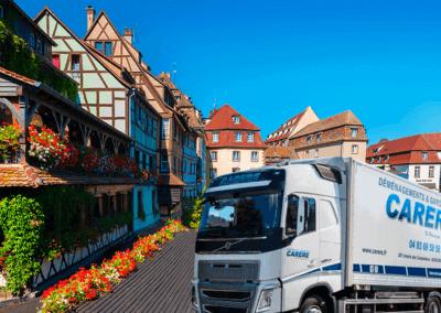 Comment faire un déménagement entre Strasbourg-Biot ?