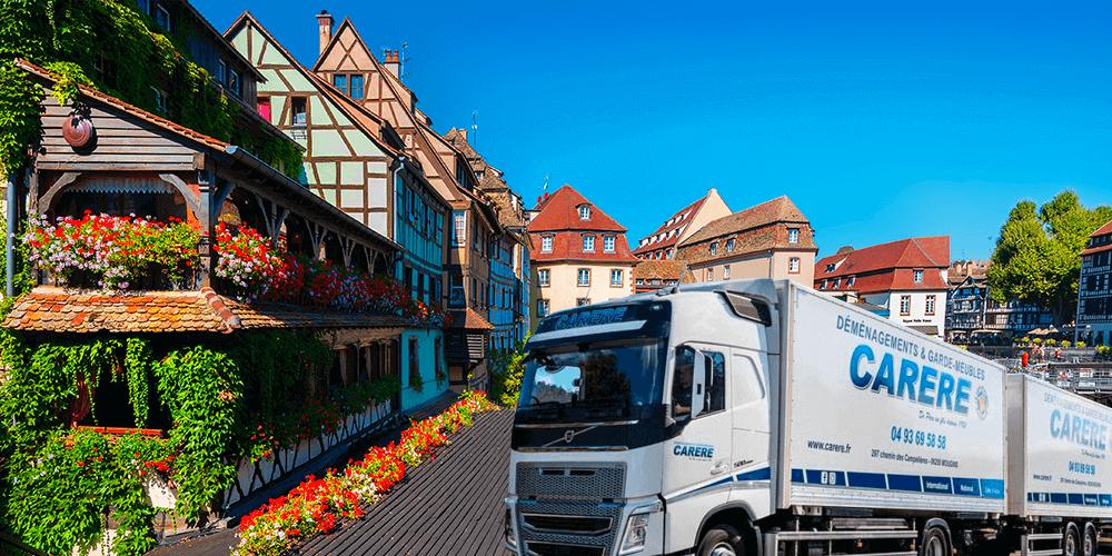 Pourquoi déménagement groupé Strasbourg-Mougins ?